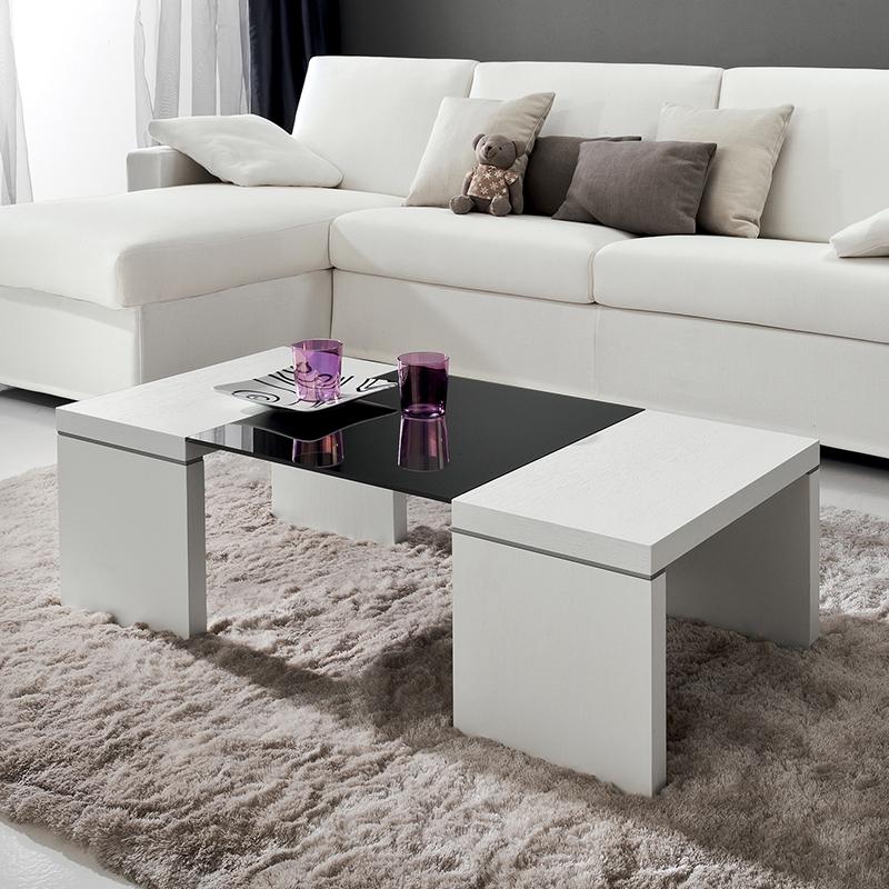 Tavolino da salotto melissa tavolo in legno frassino for Tavolino salotto bianco laccato