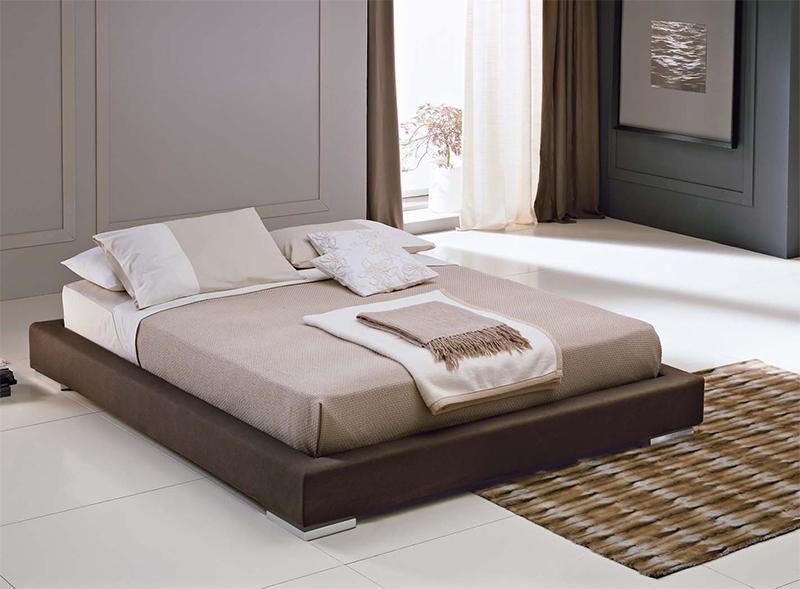 Orlando letto matrimoniale futon giapponese imbottito in tessuto