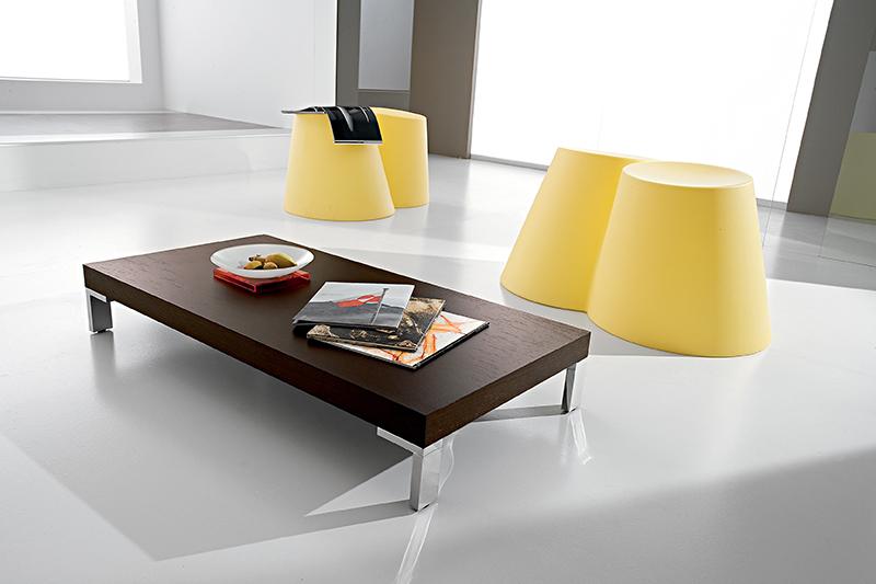 Tavolino Moderno Metallo Kim : Anna tavolino moderno da salotto con gambe in metallo