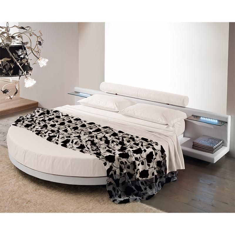 Divano letto rotondo sandy offerta letto rotondo con - Letto rotondo economico ...