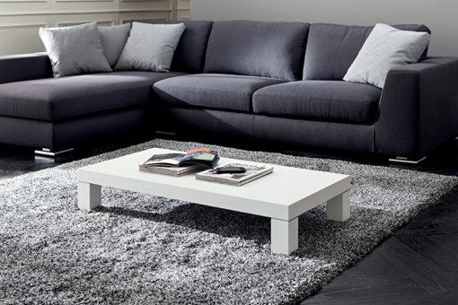 Anna - Tavolino moderno da salotto con gambe in legno TA335