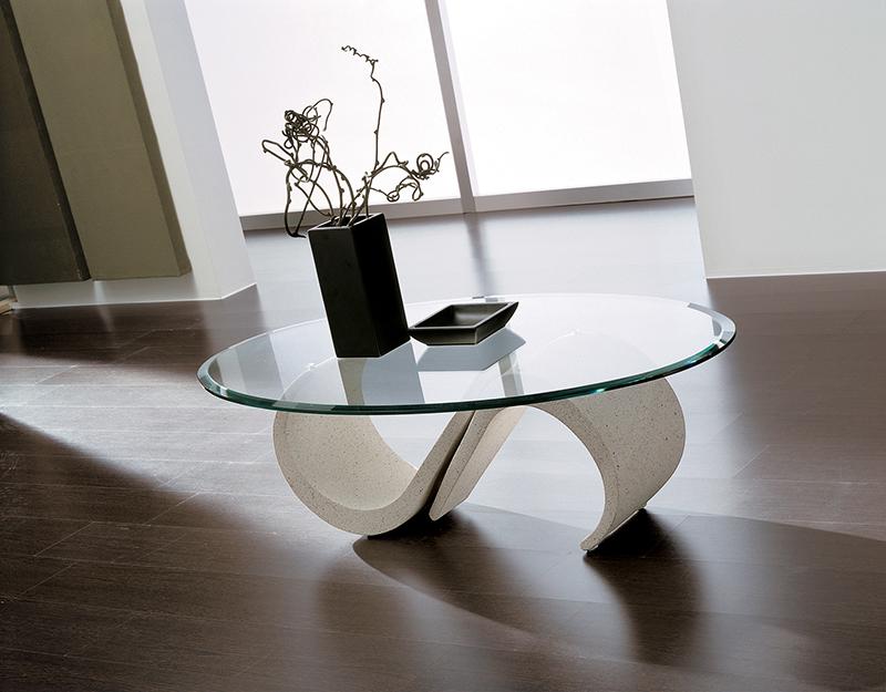 Tavolini Da Salotto Di Marmo : Mara tavolino moderno da salotto in mineral marmo con piano in