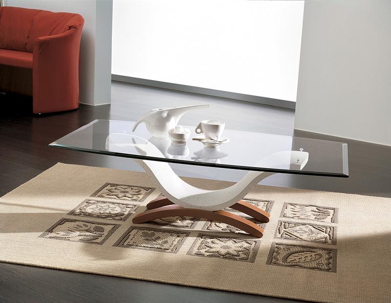 Tavolini Da Salotto Di Marmo : Susy tavolino moderno da salotto in mineral marmo con piano in