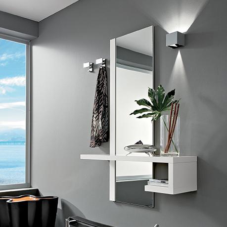 Consolle Ingresso Arredamento.Alba Mobile Per Ingresso Con Specchiera E Consolle Comp 660