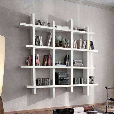 Alba - Mobile per ingresso libreria a pensili comp. 492