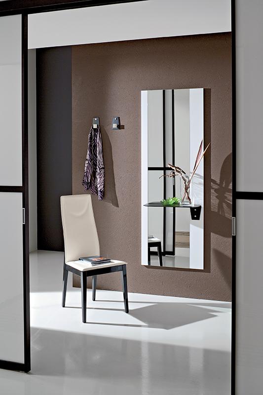 Mobile moderno ingresso consolle con specchio lia ebay - Specchi moderni per ingresso ...