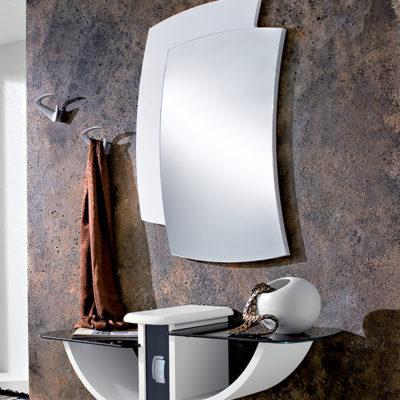 Gondola - Mobile per ingresso con specchiera e consolle con cassetto comp. 521