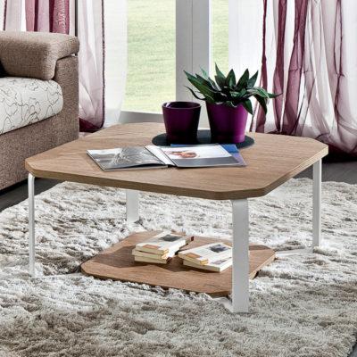 Aurora – Tavolino da salotto quadrato TA375