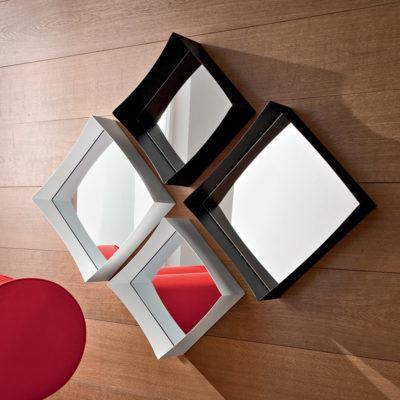 Marzia - Mobile per ingresso specchiere design componibili comp. 538