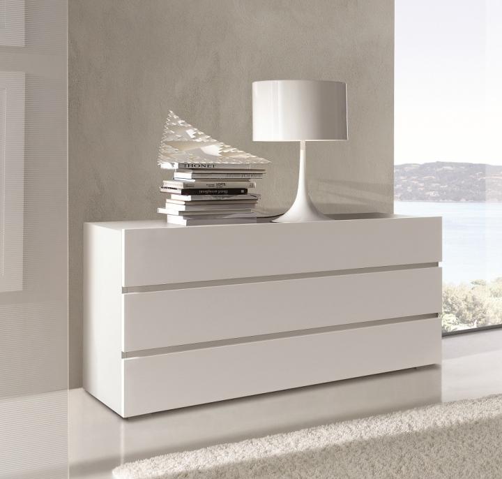Beta com cassettone moderno 3 cassetti l 120 5 cm maronese acf ebay - Cassettiera camera da letto ...