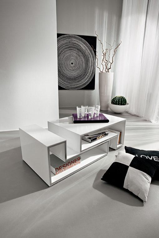 Marika - Tavolino moderno da salotto modulare TA361