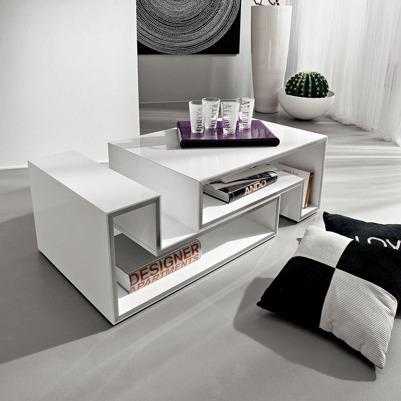 Marika tavolino moderno da salotto modulare ta361 for Tavolino salotto moderno amazon