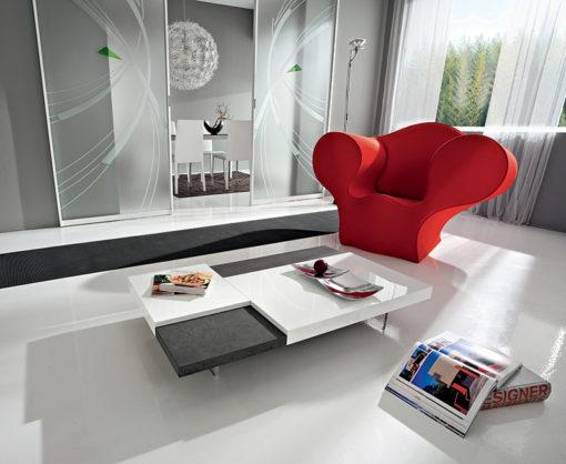 Erica – Tavolino da salotto dal design moderno TA360