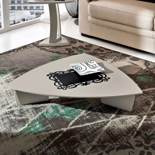 Emma - Tavolino moderno fisso da salotto TA372