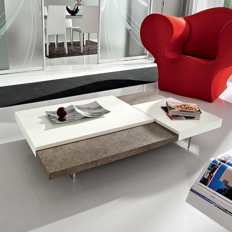 Erica tavolino moderno da salotto dal design essenziale - Tavolino da salotto design ...