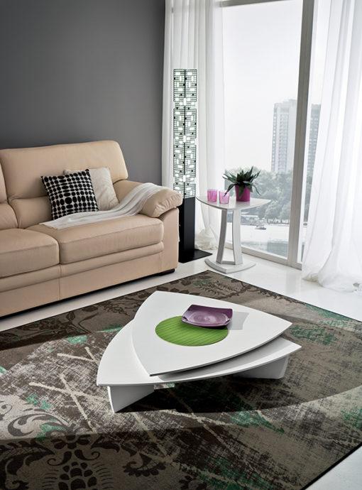 Emma - Tavolino moderno da salotto girevole TA372