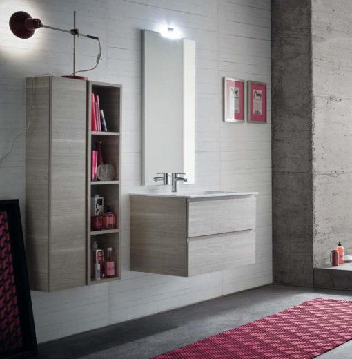 CL007 - Mobile arredo bagno design L.70,5 cm personalizzabile COMPAB