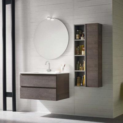 CL009 - Mobile arredo bagno design L.85,5 cm personalizzabile COMPAB