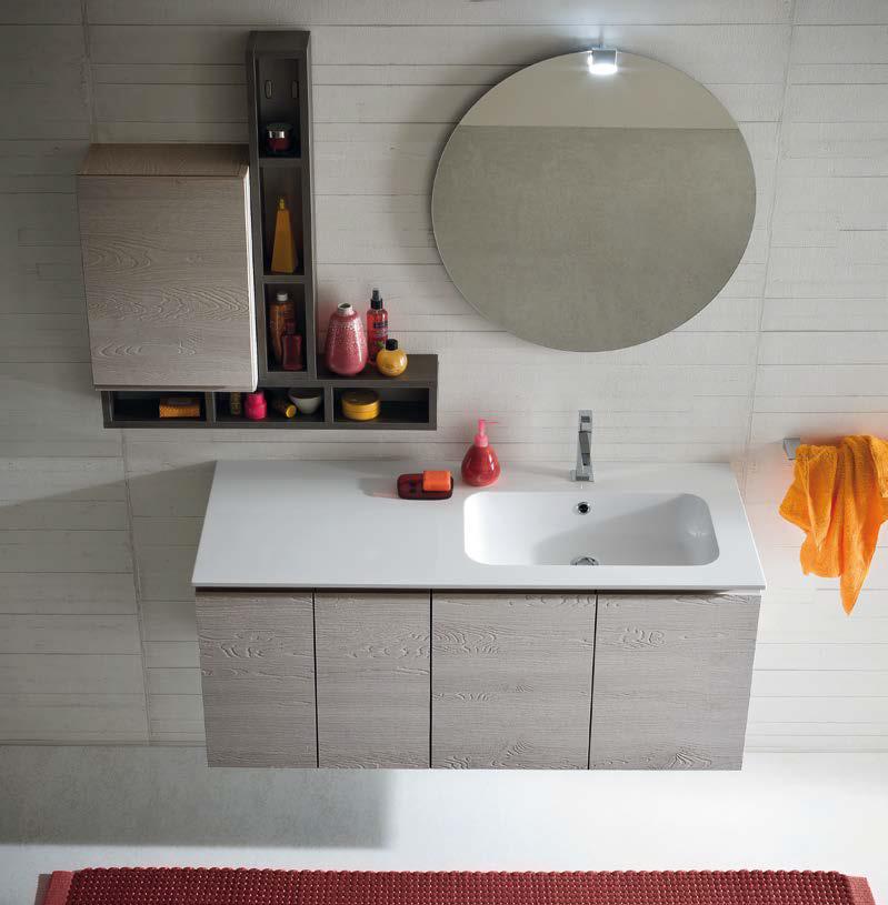 Cl010 mobile arredo bagno design cm personalizzabile compab interno77 soluzioni d - Arredo bagno compab ...