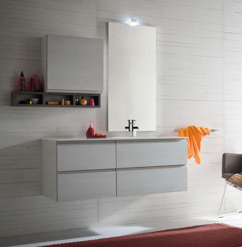 Cl011 mobile arredo bagno design cm personalizzabile compab interno77 soluzioni d - Mobili bagno compab ...