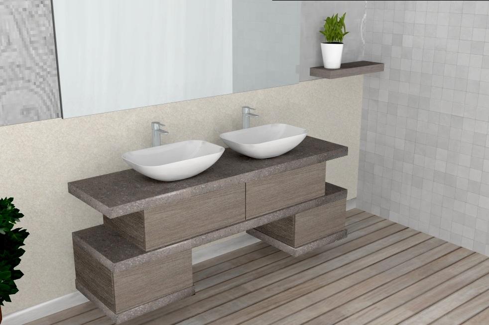 El26 mobile arredo bagno design cm personalizzabile compab interno77 soluzioni d 39 arredo - Arredo bagno design ...
