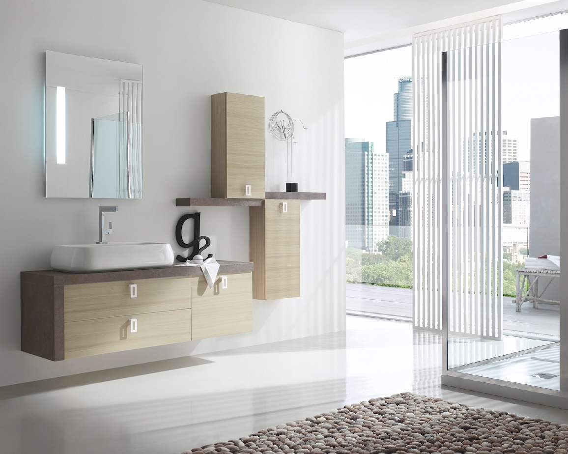 B201 y12 mobile arredo bagno design cm for Mobili bagno design