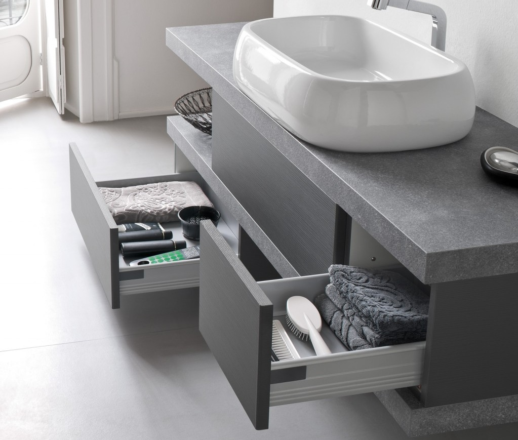 El26 mobile arredo bagno design cm - Arredamento bagno design ...