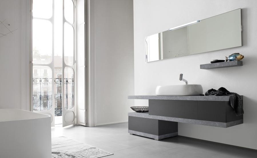 El u mobile arredo bagno design l cm personalizzabile compab