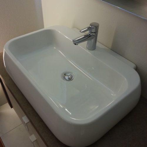 B201 Y12 - Mobile arredo bagno design L.141 cm personalizzabile COMPAB