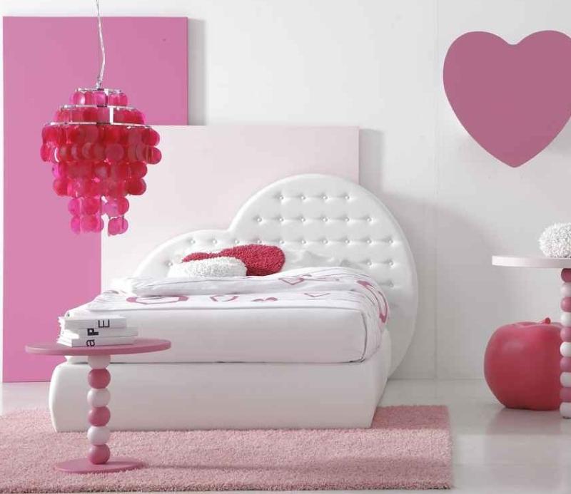 bett herz 120 cm mit lattenrost f r m dchen mod. Black Bedroom Furniture Sets. Home Design Ideas