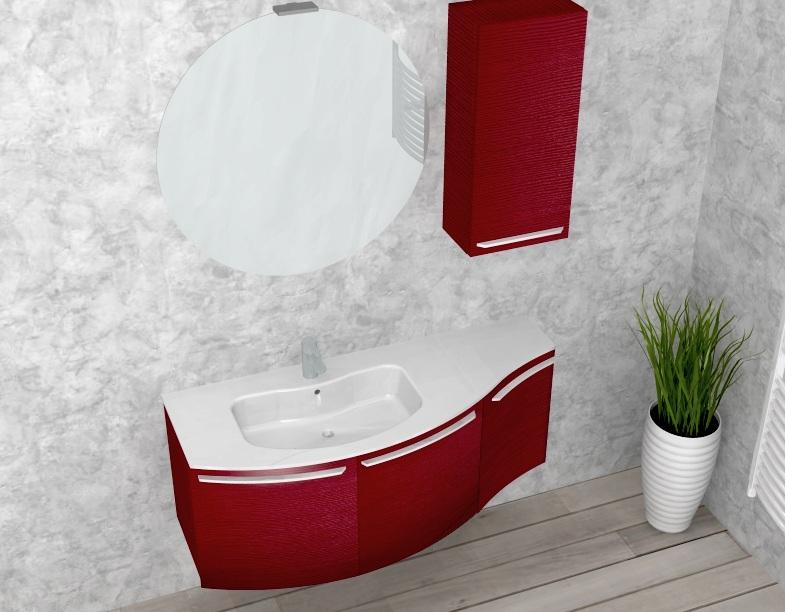 B201 versus a652 mobile arredo bagno curvo cm personalizzabile compab interno77 - Mobile bagno curvo ...