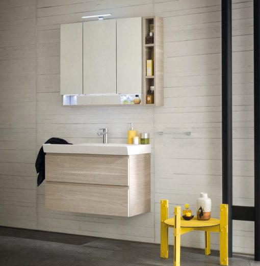 CL003 - Mobile arredo bagno design L.86 cm personalizzabile COMPAB