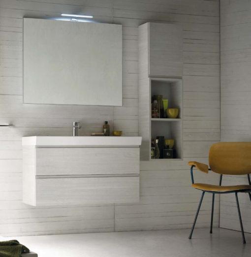 CL005 - Mobile arredo bagno design L.96 cm personalizzabile COMPAB