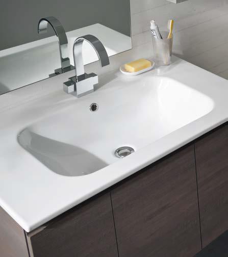 CL031 - Mobile arredo bagno design L.95,5 cm personalizzabile COMPAB