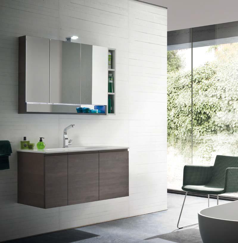 cl018 mobile arredo bagno design l965 cm personalizzabile compab