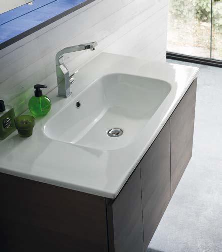 CL018 - Mobile arredo bagno design L.96,5 cm personalizzabile COMPAB