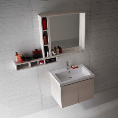 CL023 - Mobile arredo bagno design L.71 cm personalizzabile COMPAB