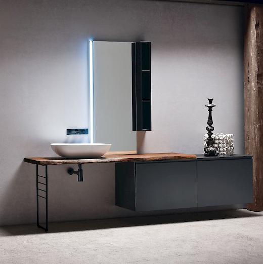 jacana ja28 - mobile luxury arredo bagno l.240 cm personalizzabile ... - Arredo Bagno Luxury