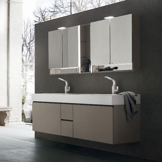 jacana ja37 - mobile luxury arredo bagno l.166 cm personalizzabile ... - Arredo Bagno Luxury