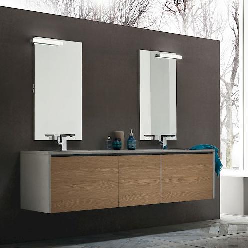 JACANA JA40 - Mobile luxury arredo bagno L.194,4 cm personalizzabile COMPAB