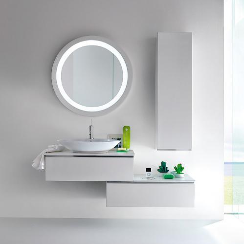 JACANA JA6 - Mobile luxury arredo bagno L.87+85 cm personalizzabile COMPAB