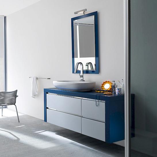 jacana ja7 - mobile luxury arredo bagno l.117 cm personalizzabile ... - Arredo Bagno Luxury