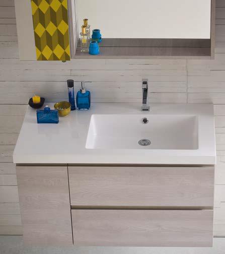CL025 - Mobile arredo bagno design L.96 cm personalizzabile COMPAB