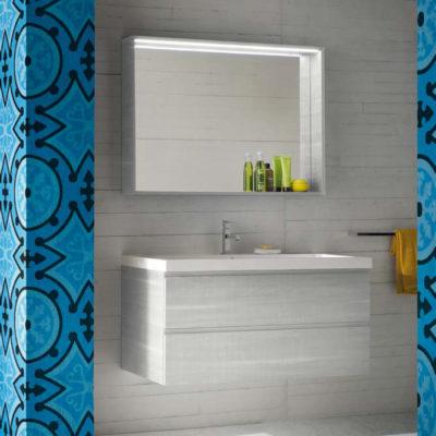 CL028 - Mobile arredo bagno design L.86 cm personalizzabile COMPAB
