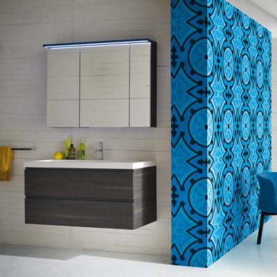 CL030 - Mobile arredo bagno design L.106 cm personalizzabile COMPAB