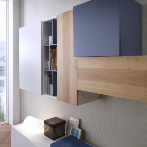 Tender COD. 107 - Mobile parete attrezzata per soggiorno L.320 cm MAB