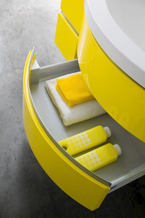 JACANA JA11 - Mobile luxury arredo bagno L.121 cm personalizzabile COMPAB