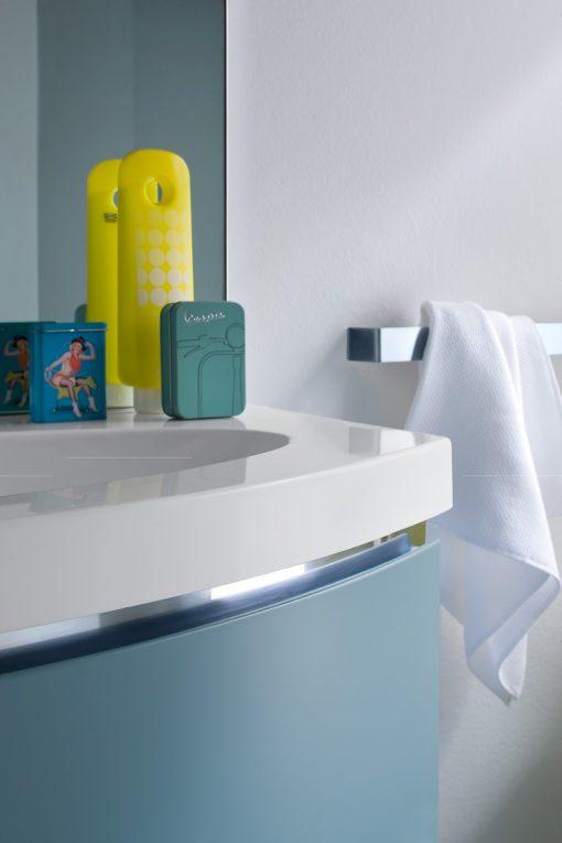 JACANA JA12 - Mobile luxury arredo bagno L.96 cm personalizzabile COMPAB