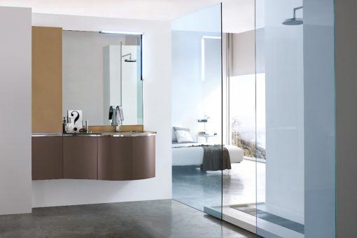 JACANA JA15 - Mobile luxury arredo bagno L.141 cm personalizzabile COMPAB