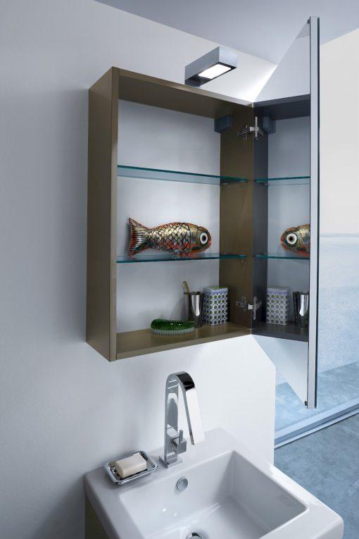 JACANA JA1 - Mobile luxury arredo bagno L.51+35 cm personalizzabile COMPAB